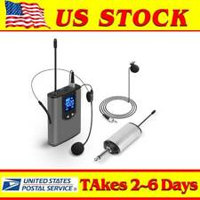 Mini Wireless Headset Microphone Rechargeable UHF Mic Kit For Live Performances