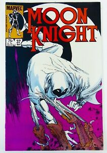 Marvel MOON KNIGHT (1984) #37 Low Print Run Kaluta Cover VF- Ships FREE!