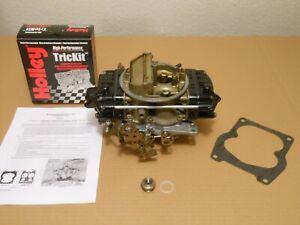 Rebuilt Holley 6210 650cfm 4165 Double Pumper HP Universl SS 327 350 396 427 454