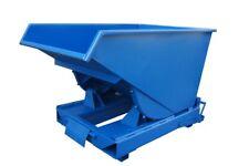 Kippcontainer Kippmulde Kippbehälter Container Müllcontainer Stapler 300 l ROT