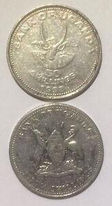 Uganda 50 Shillings 1998 Antelope Animal 21mm steel coin 1pcs