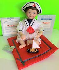 """Justin� Ashton-Drake Doll 1991 Yolanda Bello Sailor Baby Doll"