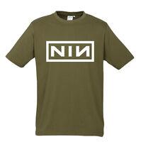 Nine Inch Nails New Khaki T-shirt S M L XL XXL Marylin Manson NIN