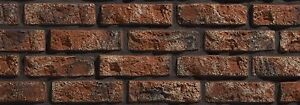 Decorative Brick, Wall Cladding, Slate Stone Tile Slips Brick Tiles RUSTIC 540