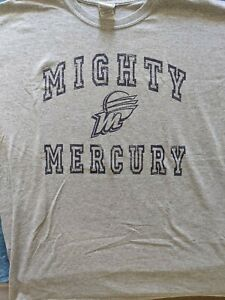 Phoenix Mercury Mighty Mercury T-shirt large, great condition, Item of the Game