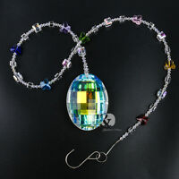 Healing Hanging Suncatcher Crystal Prisms Pendant Wedding Window Decor Gift