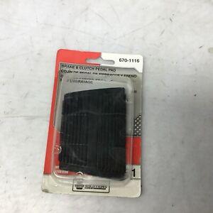 NAPA Brake & Clutch Pedal Pad 670-1116