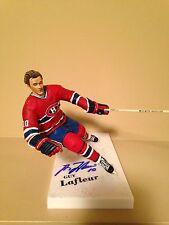 Mcfarlane Nhl Guy Lafleur Montreal Canadians Autographed Signed figure Rare