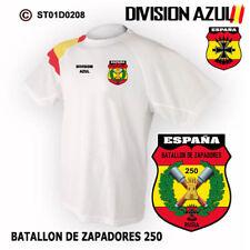 CAMISETAS TECNICAS: DIVISION AZUL / BATALLON DE ZAPADORES DE ASALTO 250