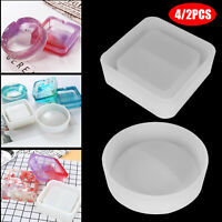 Silicone Ashtray Mold Epoxy Resin Making Mould Casting Jewellery Craft DIY Tool