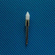 Dental Prophy Brush White Nylon Tapered Shape Polishing Brush 50 PCS /Bag