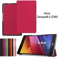 Ultra Thin Magnetic Leather Case Cover Stand Shockproof For ASUS Zenpad Tablet