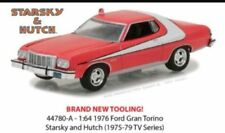 GREENLIGHT 1:64 HOLLYWOOD-S18-STARSKY AND HUTCH-1976 FORD GRAN TORINO-PRE-ORDER