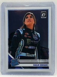 Hailie Deegan 2020 Donruss Racing Optic Rated Rookie Card #11