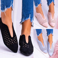 Women's V-Type Hollow-Out Breathable Heel Mules Slides Slippers Single Shoes Hot