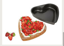 Ernesto Heart Shaped Cake Tin  Non Stick Pack of 2
