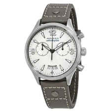 Movado Heritage Chronograph Grey Lacquer Dial Ladies Watch 3650035
