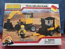 NEVER OPENED!! BEST-LOCK CONSTRUCTION TOYS ~~ OVER 160 Pieces ~~ FREE SHIPPING!!