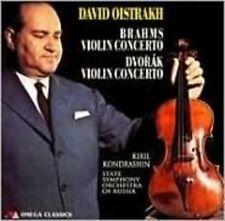 Brahms / Dvork / Oistrakh / Ussr Symphony Orch - Violin Concertos [New CD]