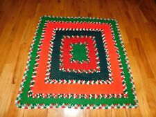 Christmas Afghan Crochet Throw Handmade Blanket