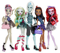Monster High 5 Puppen Multi Pack TANZKLASSE Dance Class OVP BBR89