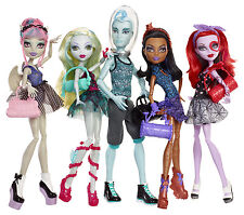 Monster High Puppenset DANCE CLASS 5-Pack Exklusiv 2013 Sammlerpuppe SELTEN