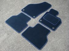 Car Mats in Navy to fit VW/Volkswagen Tiguan (2007-2016) - FREE COLOURED TRIM!