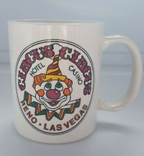 Vintage Reno Las Vegas Circus Circus Hotel & Casino Mug Coffee Tea Euc Excellent