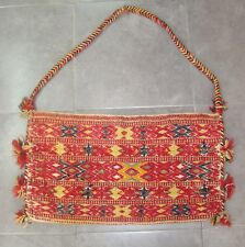Antique Middle East Persian ? Uzbekistan ? Caucasian ? Embroidery Rug Bag