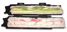 BLACK Sushi Roll Maker Making Kit Mold Sushezi Rice Roller Mold Kitchen DIY Set