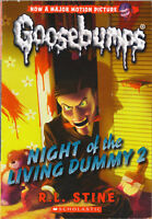 Goosebumps #25: Night of the Living Dummy 2 by R. L. Stine (2015, paperback)