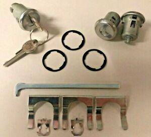 NEW 1966-1968 Chevrolet Corvair Door & Trunk Lock set with Original GM keys