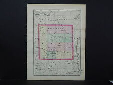 Michigan, Map, 1873, Double Sided, Counties of Lake and Osceola #24