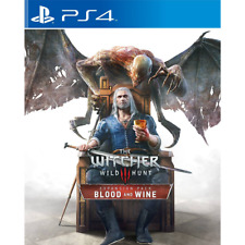 Witcher 3 Blood and Wine DLC PS4 Expansion Code Download from PSN