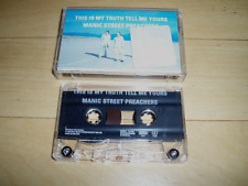 Manic Street Preachers - This Is My Truth Tell Me Yours - UK cassette album 1998