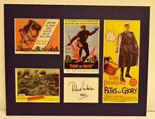 """""""Paths of Glory"""" Collage with Richard Anderson Autograph (includes COA)"""