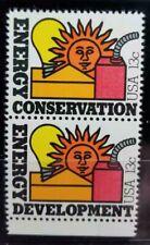 Scott #1723-24 US Stamp 1977 13c Energy Conservation and Development MNH Pair