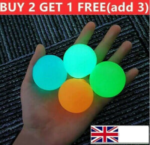 Sticky Balls for Ceiling Stress Relief Glow in the Dark Kids  Gift