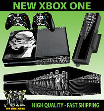 XBOX ONE CONSOLE STORMTROOPER STAR WARS EMPIRE SOLDIER STICKER SKIN & PAD SKINS