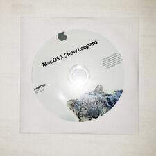 Apple X Snow Leopard Mac OS X  OSX 10.6 Install DVD osx disk