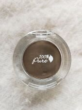 100% PURE - Fruit Pigmented Eye Shadow GOLD ESPRESSO natural eye makeup OPEN