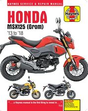 Haynes 6426 Workshop Repair Manual Honda Msx125 (grom) 13 to 18