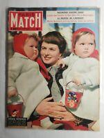 N523 Magazine Paris-Match N°262 3 au 10 Avril 1954 Ingrid Bergman, le procès...
