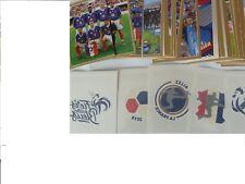 96 vignettes+ 6 tatoos panini carrefour coupe du monde 2018 set complet