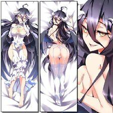 Anime Overlord albedo Otaku Hugging Body Dakimakura Pillow Case Cover 150*50cm#6
