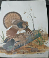 1978 Double Signed Gene Gray Ruffled Grouse Series 111 plate 6 Free Ship unused