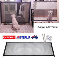 Safe Magic Gate Portable Folding Safety Guard for Pet Cat Dogs Isolated Gauze ht