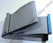 "Lot10 18""Dual/2 device IDE ATA133 mbs 80wire PATA Cable/Cord/Wire/Strap/Ribbon"