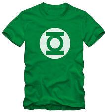 T-shirt /Maglietta Green Lantern Lanterna Verde Sheldon cooper Serie TV