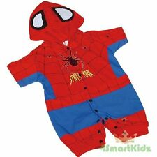 Spiderman Hero Baby Fancy Party Costumes Outfit Size 1